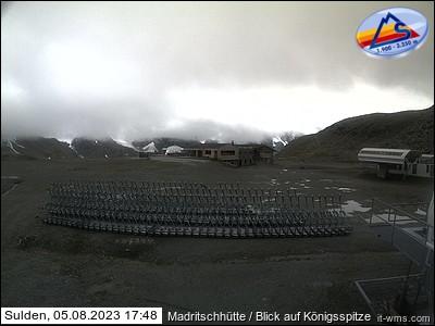 Madritschhütte - Blick auf den Königspitze